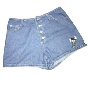 Mickey unlimited jean shorts